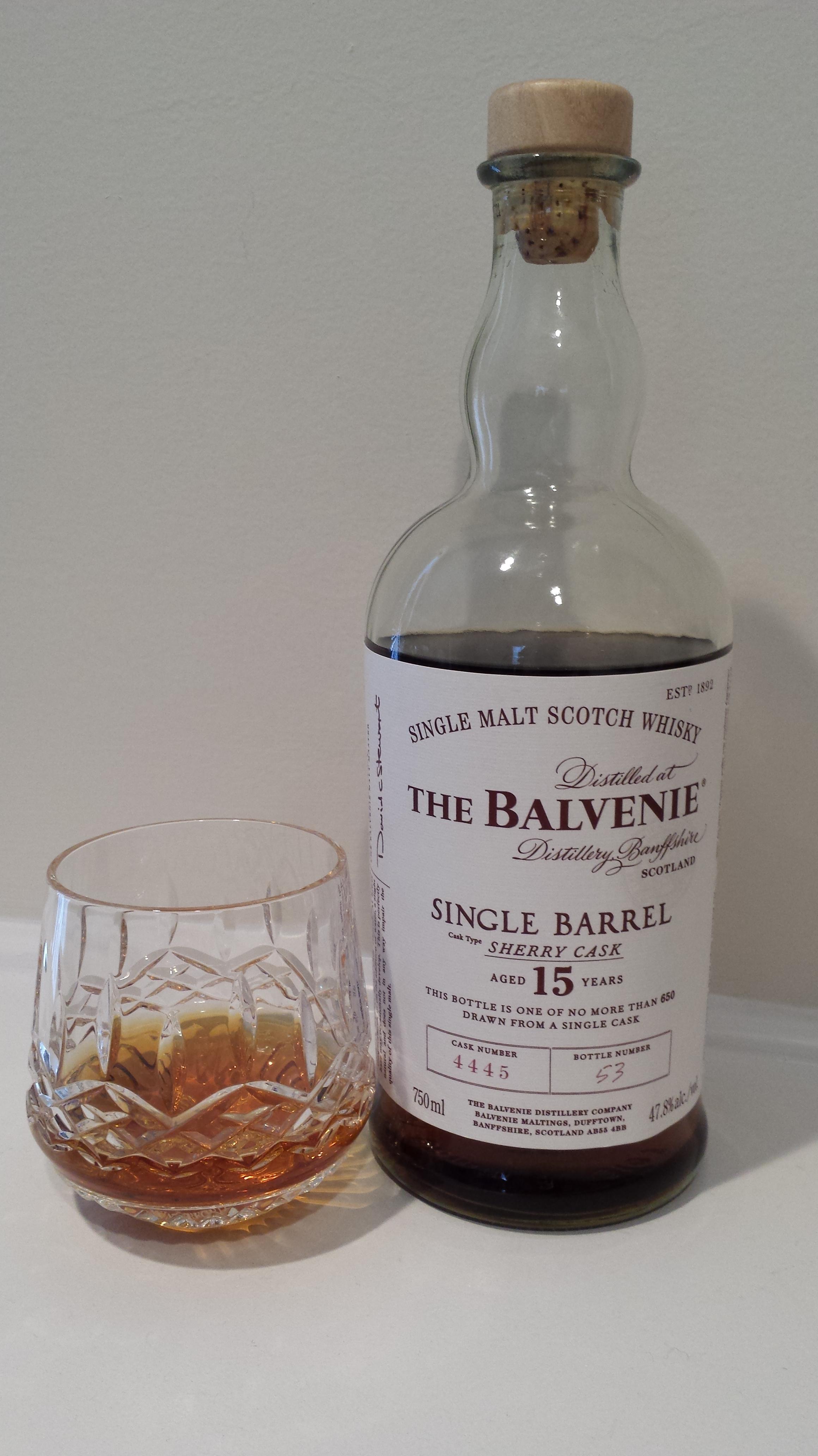 Balvenie single barrel sherry review